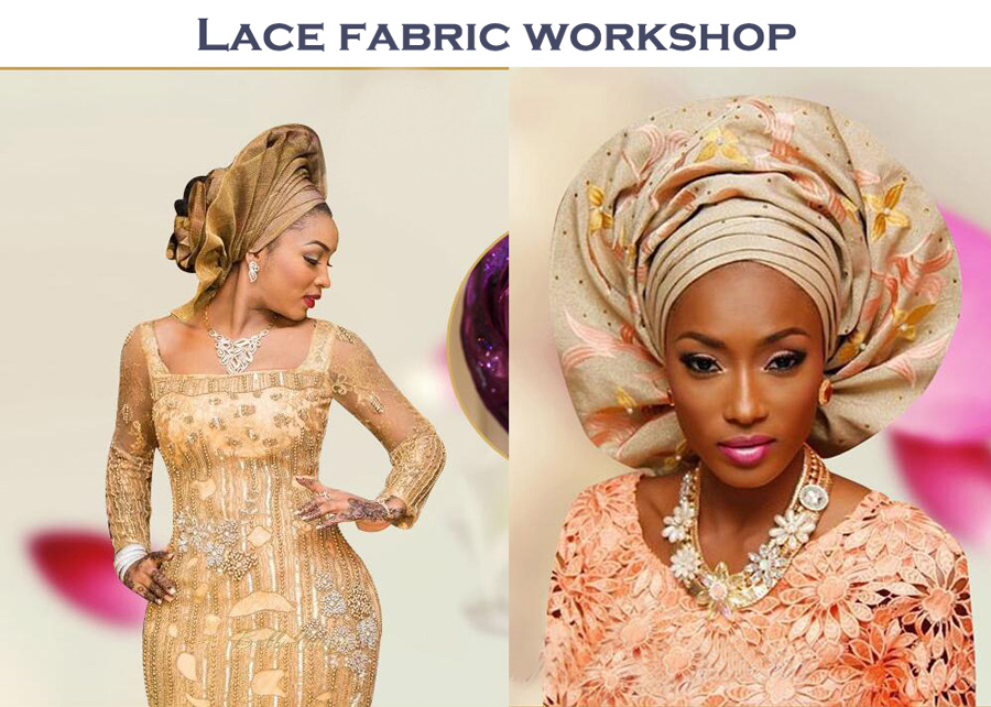 lace fabric workshop