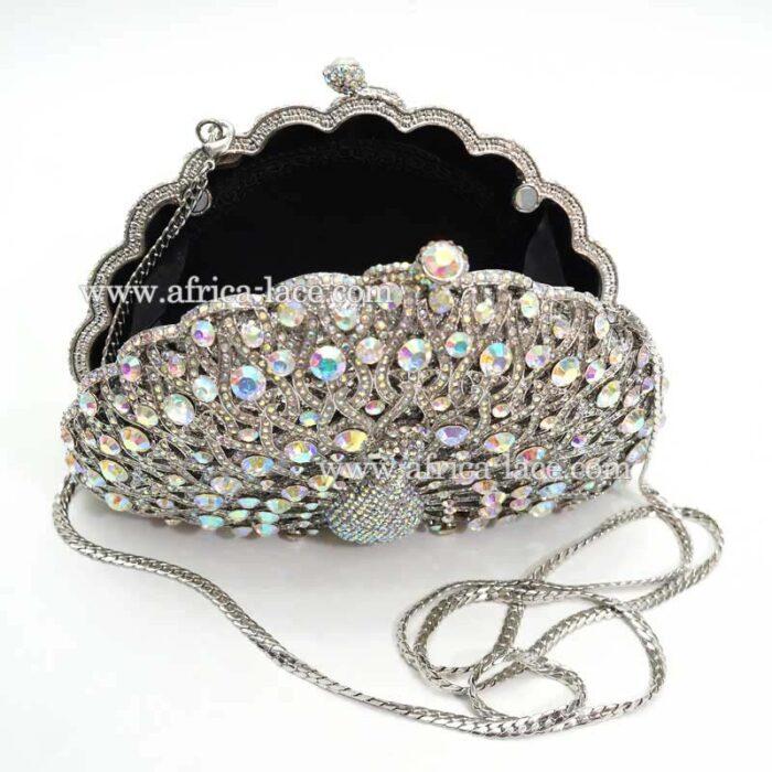 crystal evening bag
