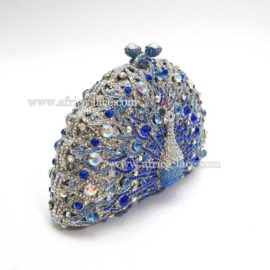 crystal evening purse