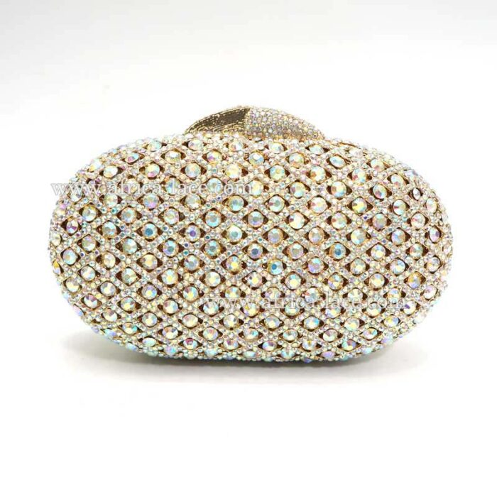 crystal cluth bag