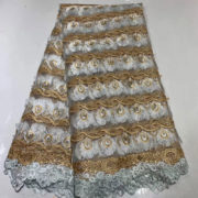 yards/lot French lace lace Embroidery flower lace fabric in african fabric