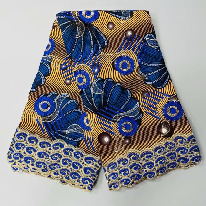 african ankara fabric, latest african wax print fabric for party dress in 6 yards
