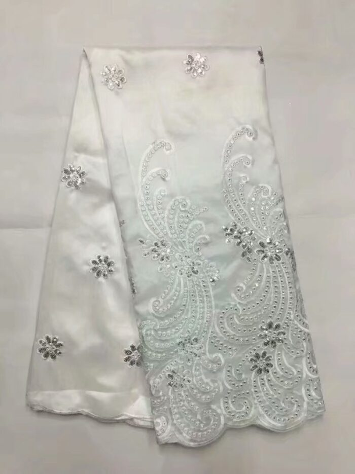 5 yards Sequined George Lace Fabric