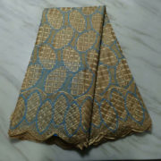 Cotton lace fabric High Quality Swiss Voile Lace with stones 2019 latest African Lace Fabric for wedding dress 5yards