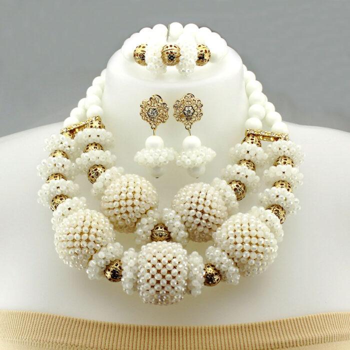 Luxury handmade african Wedding Jewelry