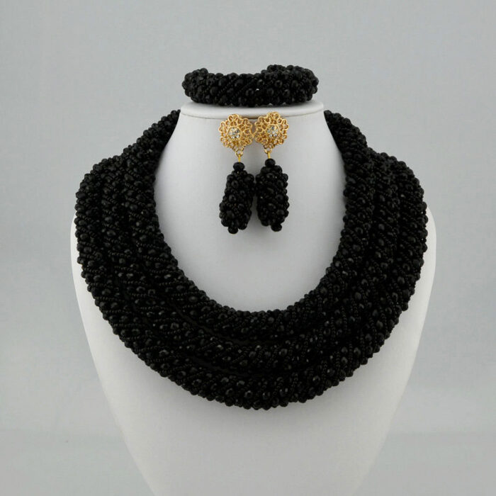 Traditional Jewelry Set African Beads Jewelry Set for Wedding