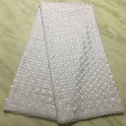 High quality swiss voile lace fabric in cotton lace for wedding