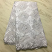 quality swiss voile lace fabric in cotton lace for wedding