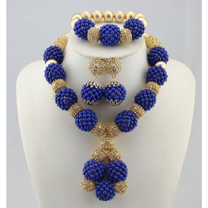 Nigerian wedding jewelry
