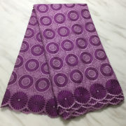 Hot selling african swiss voile lace high quality best cotton african lace fabric for wedding