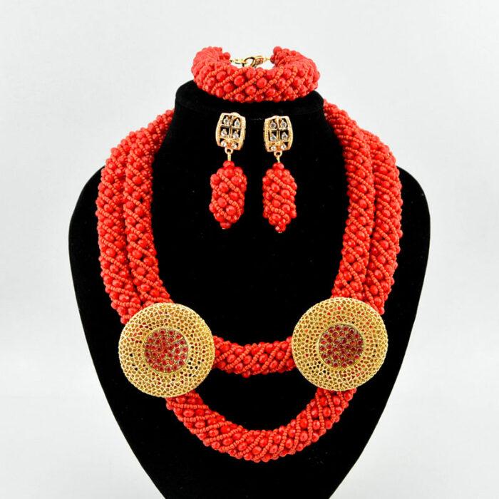 Fashion Jewelry 2020 Women Bridal Wedding Jewelry Sets