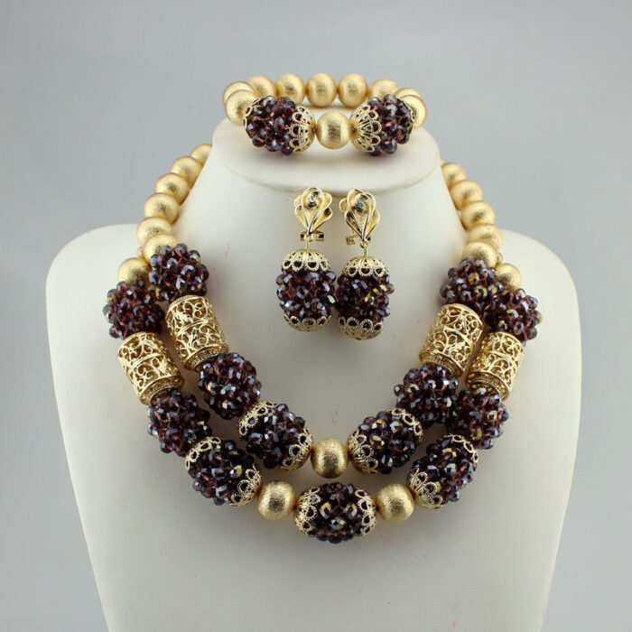 Necklaces Pendants Women Jewelry african beads jewelry set wedding bridal jewelr
