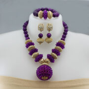 Necklaces Pendants Women Jewelry african beads jewelry set