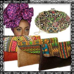Headwrap Clutch/Hangbag