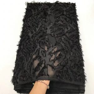African Material Lace Chiffon