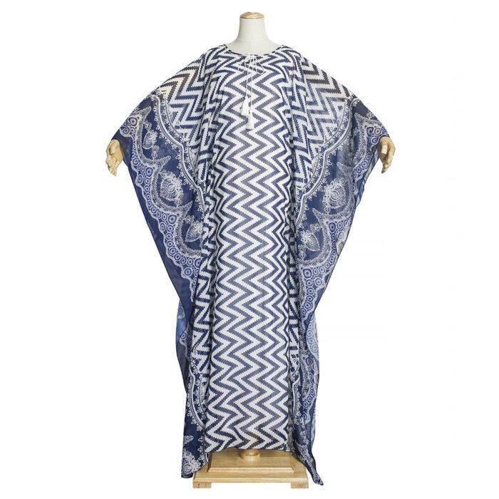 Oversize chiffon material long dress