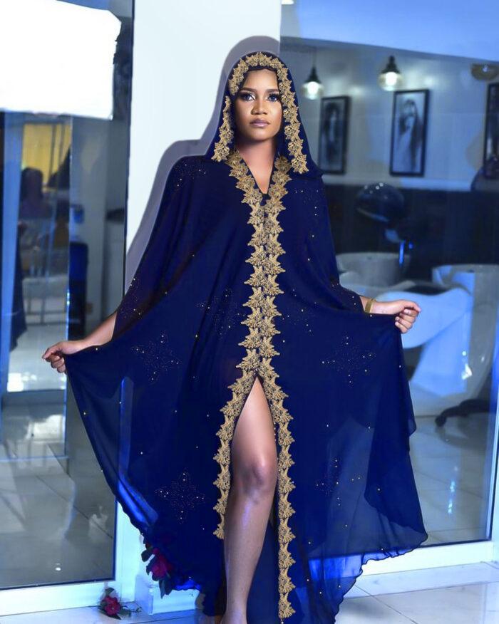 Muslim Kaftan Abaya Dress